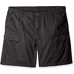 Wrangler Authentics Men's Big & Tall Canvas Utility Hiker Short