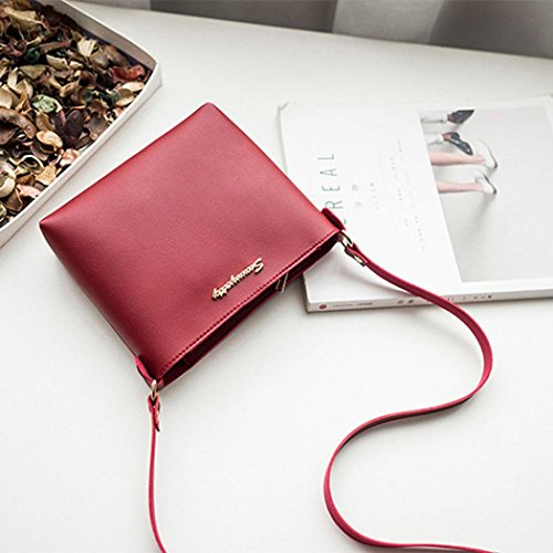 Women Fashion Coin Crossbody Messenger Phone Bag Bag Purse Clearance Bag Red Bag Shoulder v5qcdw