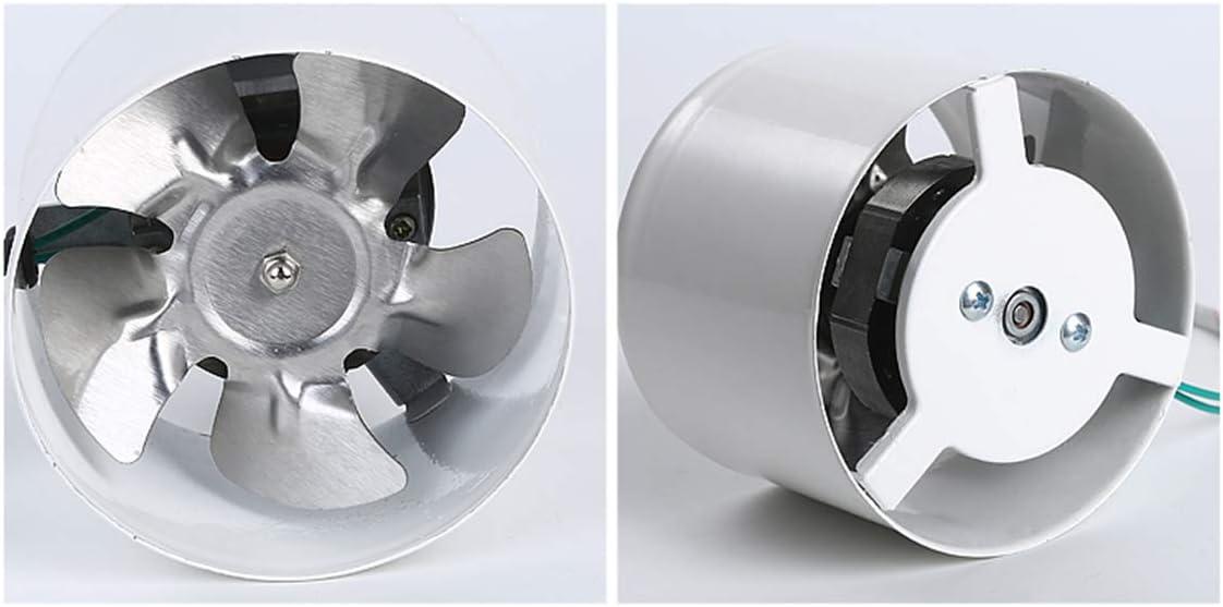 B/üro 25W Xcmenl 100mm Rohrventilator Abluftventilator Effiziente Bel/üftung 140M/³//H F/ür Bad Geringer Energieverbrauch WC Leise