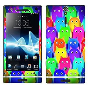 "Motivos Disagu Design Skin para Sony Ericsson Xperia Arc HD: ""Owls Group"""
