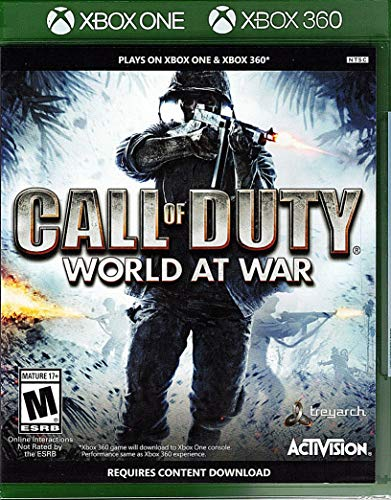 CALL OF DUTY WORLD AT WAR: XBOX 360 (Call Of Duty World At War 5)
