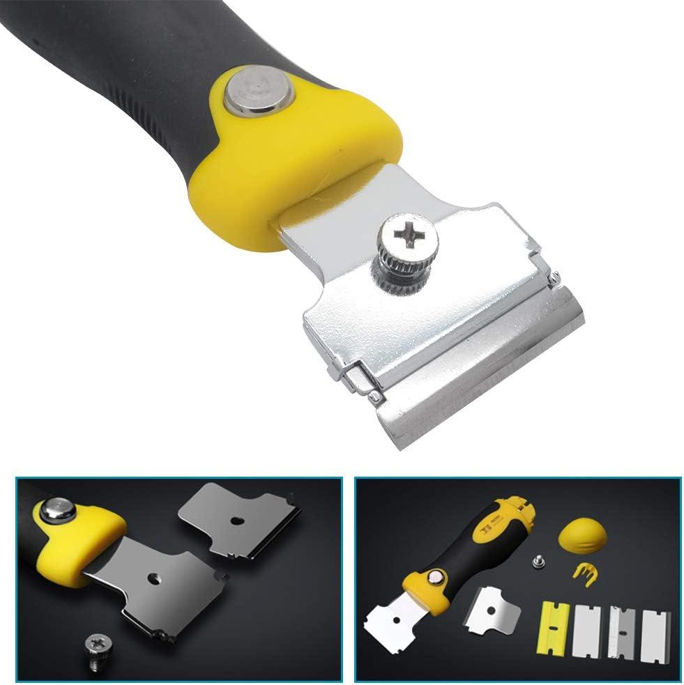 Rascador de vitrocer/ámica para vitrocer/ámica con 4 cuchillas de acero inoxidable