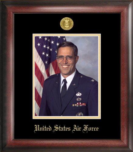 Patriot Frames Air Force Portrait Frame Medallion, (Air Force Photo Frame)