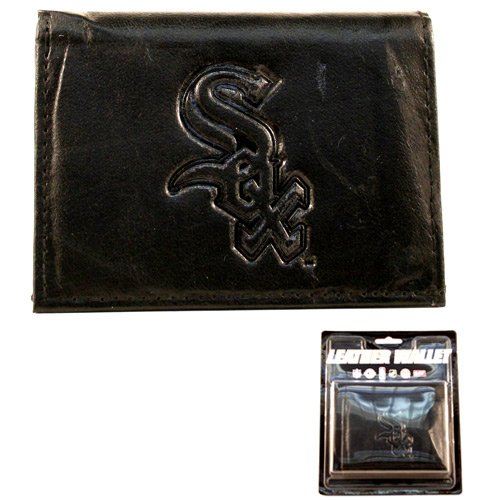 MLB Chicago White Sox Tri-Fold Leather Wallet, ()