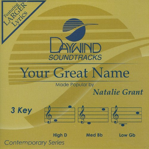 Your Great Name [Accompaniment/Performance Track] - Name Accompaniment Cd