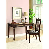 Coaster Home Furnishings Casual Desk, Cherry/Coffee