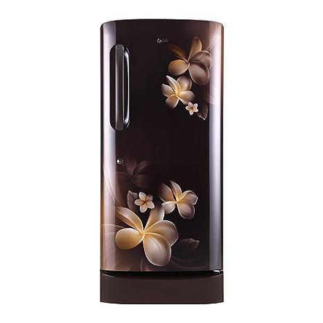 2e2e7408e4f LG 215 L 5 Star Inverter Direct Cool Single Door Refrigerator (GL-D221AHPY