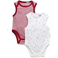 Purebaby Stripe Singlet Bodysuit,