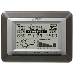 La Crosse Technology WS-9250U-IT Advanced Wireless Sun/Moon Forecast Weather Station with Barometer