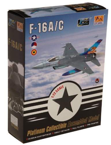 Easy Model F-16 A/C MLU BAF 1st SQD Belgium 2003 Die Cast Aircraft