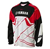 Yamaha Racing One Industries Carbon Jersey Red White Black XXLarge