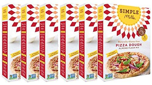 Simple Mills Almond Flour Mix, Pizza Dough, 9.8 oz, 6 count