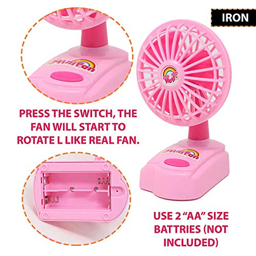 urban festivities battery operated 6 pieces household home appliances play set toys for girls with realistic sound - fan,hair dryer,vacuum cleaner,sewing machine,iron,washing machine-Pink 518eWtvgCpL India 2021