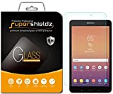 [2-Pack] Supershieldz for Samsung Galaxy Tab A 8.0 inch (2017) [SM-T380 Model Only] Tempered Glass Screen Protector, Anti-Scratch, Bubble Free, Lifetime Replacement