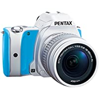 Pentax K-S1 Lens Kit (Blue Cream Soda) SLR Sweets Collection 20MP SLR Camera with 3-Inch LCD- Body Only At A Glance Review Image