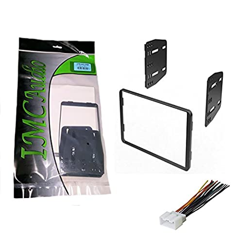 IMC Audio Double Din Dash Kit for Aftermarket Radio Installation for Ford Lincoln Mazda Mercury - Ford Installation Kit