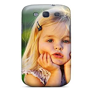 Galaxy S3 Case Slim [ultra Fit] Cute Little Baby Girl Protective Case Cover