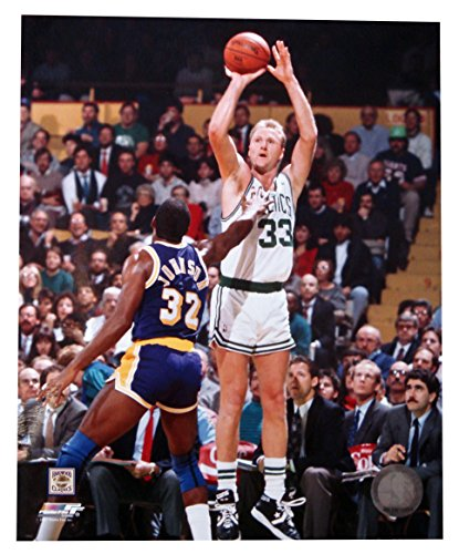 Unsigned Basketball (RUSSELL RAFAEL Unsigned Larry Bird 8x10 Unframed Photo)