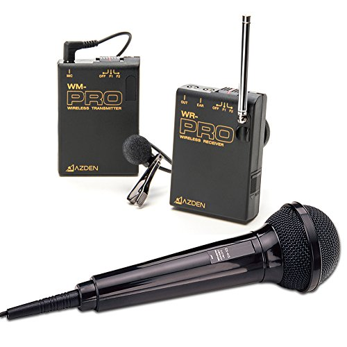 Azden WMS-PRO Wireless Microphone System by Azden
