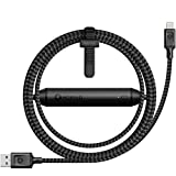 Nomad Ultra Rugged 1.5 M Battery Cable for iPhone and iPad - Pass-Through Charging Technology - 2350mAh Portable Battery - Ballistic Nylon Core cover image