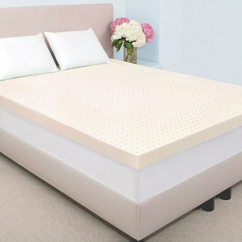 "Authentic Comfort 4"" Memory Foam Mattress Topper with Biofre"