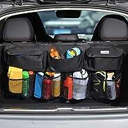COOFULL Car Trunk Organizer - Super Capacity Vehicle Back Seat Accessories Storage Bag, Auto Boot Tidy Organiz