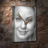 Seasons Jessica Collins - Canvas Clock (A5 - Signed by The Artist) #js005