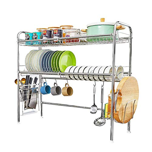 HEOMU Over The Sink Dish Drying Rack