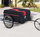 Aosom Elite Two-Wheel Bicycle Large Cargo Wagon