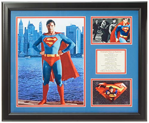 """Legends Never Die Superman - Christopher Reeves Framed Photo Collage, 16"""" x 20"""""""