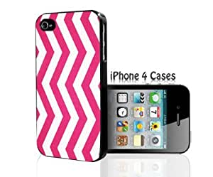 Pink Stripes iPhone 4/4s case