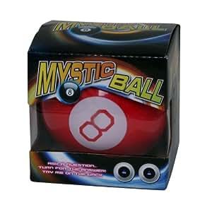 Red Mystic Plastic Magic Fortune Orb Ball