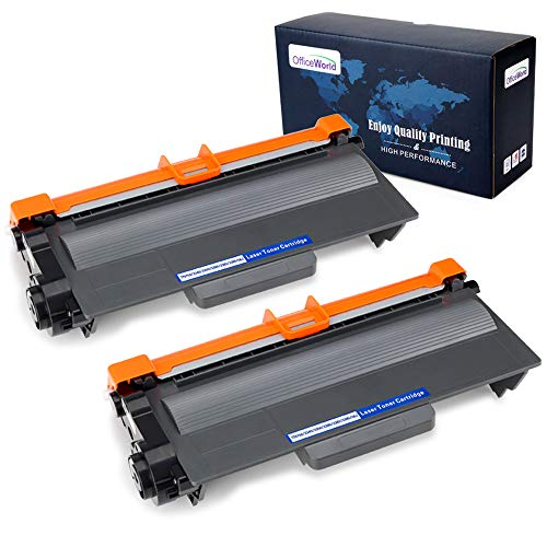 - Office World Compatible Toner Cartridge Replacement for Brother TN750 TN-750 TN720 (Black, 2-Packs), Compatible with Brother HL-5470DW HL-5450DN HL-6180DW MFC-8710DW MFC-8910DW MFC-8950DW