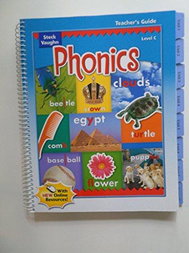 Steck-Vaughn Phonics: Teacher's Guide Level C 2004