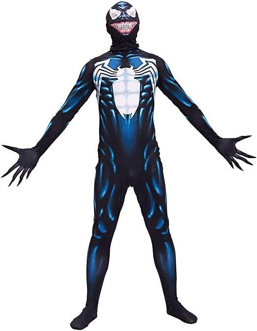 Cosplay Ropa Venom Simbiosis Anime Disfraz Músculo Siamés Disfraz ...