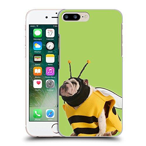 GoGoMobile Coque de Protection TPU Silicone Case pour // Q05650628 Abeille bouledogue inchworm // Apple iPhone 7 PLUS