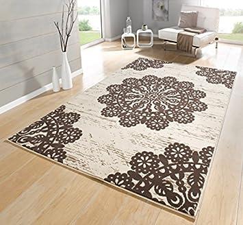 Teppich Orientalisch beige / braun / Wohnzimmerteppich ...