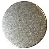 "RMP Stamping Blanks, 1 1/4"" Round, Aluminum .063"" (14 Ga.) - 50 Pack"