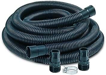 amazon com little giant water pumps parts accessories little giant spdk sump pump discharge hose kit 24 feet