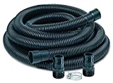 Little Giant SPDK Sump Pump Discharge Hose Kit, 1-1/4' Hose - 1-1/2' & 1-1/4' Adaptors, 24-Feet