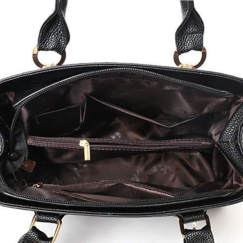 Main Paquet Anlei 22cm Diagonal Couleurs Bandoulière La Mode 15 Black 28 6 Zxh Femmes 1779 Pu Sac À vrw1AqrEnp
