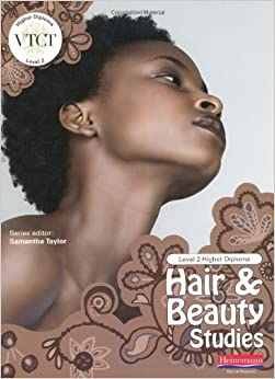 Book VTCT Level 2 Higher Diploma in Hair and Beauty Studies Student Book