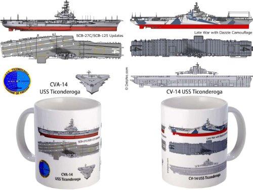 USS Essex CV-9 CVA-9 Coffee Mug