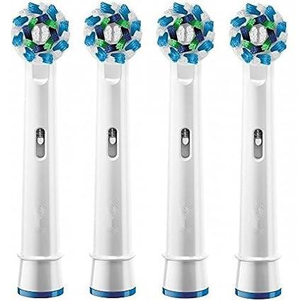 genérico Recambio Cepillo dE dientes eléctrico Cabezales FLEXISOFT para ORAL-B BRAUN,doble limpieza