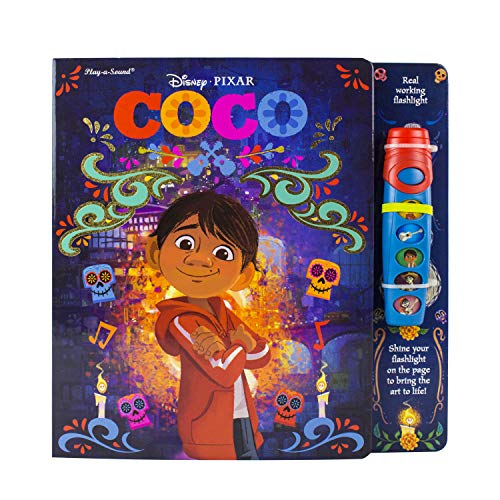Disney Pixar - Coco Flashlight Adventure Sound Book - PI Kids -