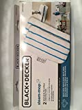 black and decker steam mop pads