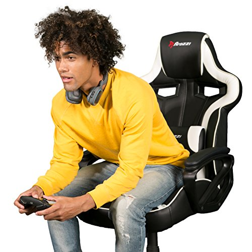 518eh80XWqL - Arozzi Milano Enhanced Gaming Chair