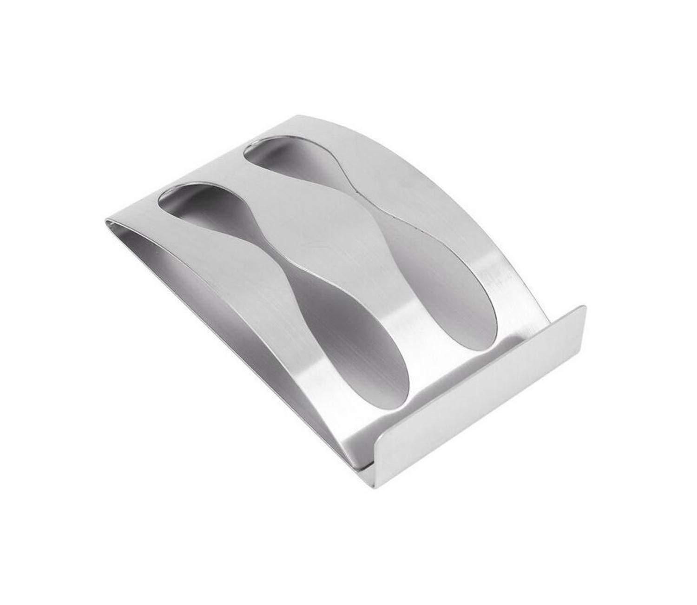 Togu 2 Hole Stainless Steel Toothbrush Razor Holder With Self Adhesive