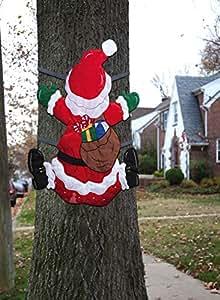 Santa Splat Tree Wrap