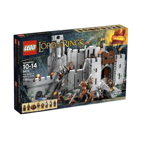 518eiiTAuvL - LEGO The Lord of the Rings 9474 The Battle of Helm's Deep (Discontinued by manufacturer)